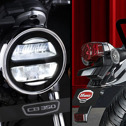 Full LEDHeadlamp And TailLamp Ring Type Winkers